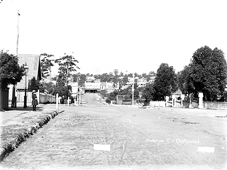 Anderson Street, Chatswood, c.1908. ID 18526_a024_000088