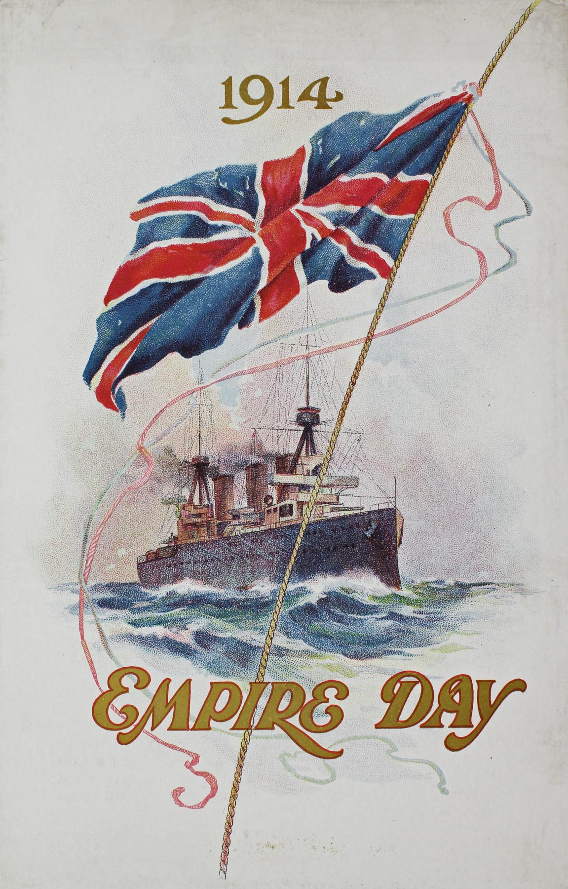 Empire Day program, 1914 (cover). From NRS 4474, [1/265]
