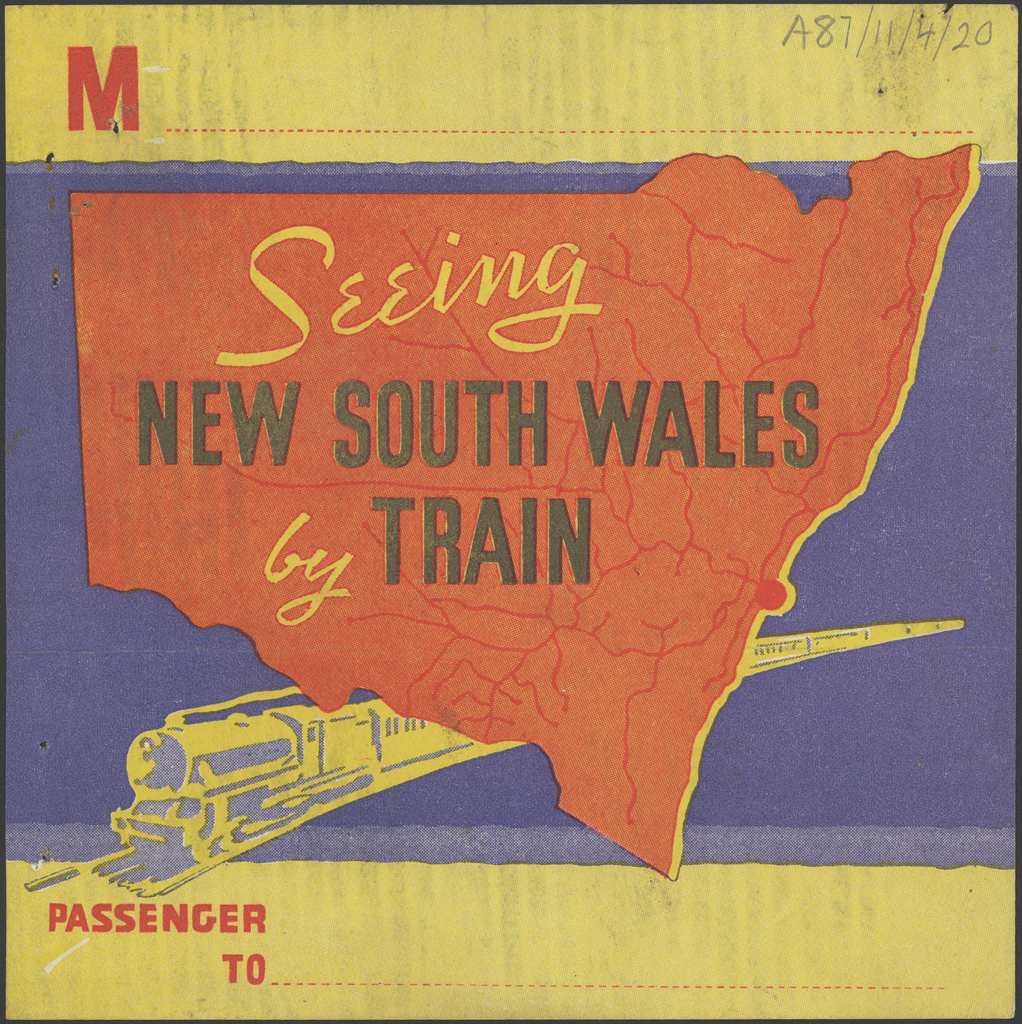 Seeing New South Wales by train. Album is dated 1936-1938. Digital ID 16410_a111_54a_000020