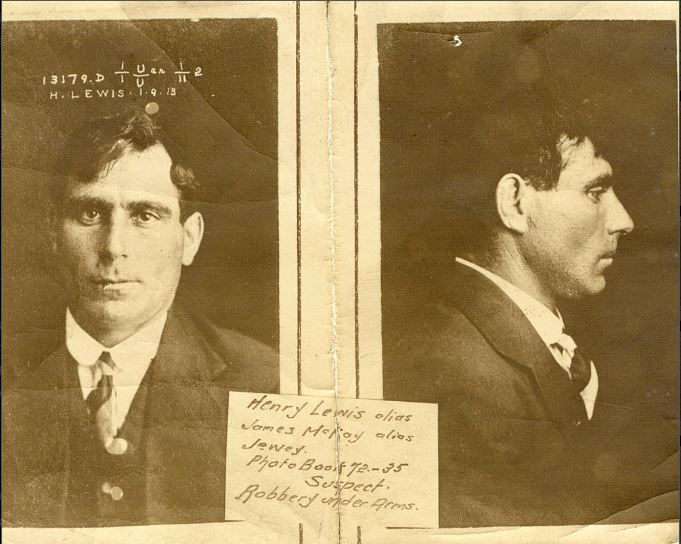 Eveleigh Heist exhibit 7 from the trial - photo of Samuel Freeman. NRS 880 9-7189