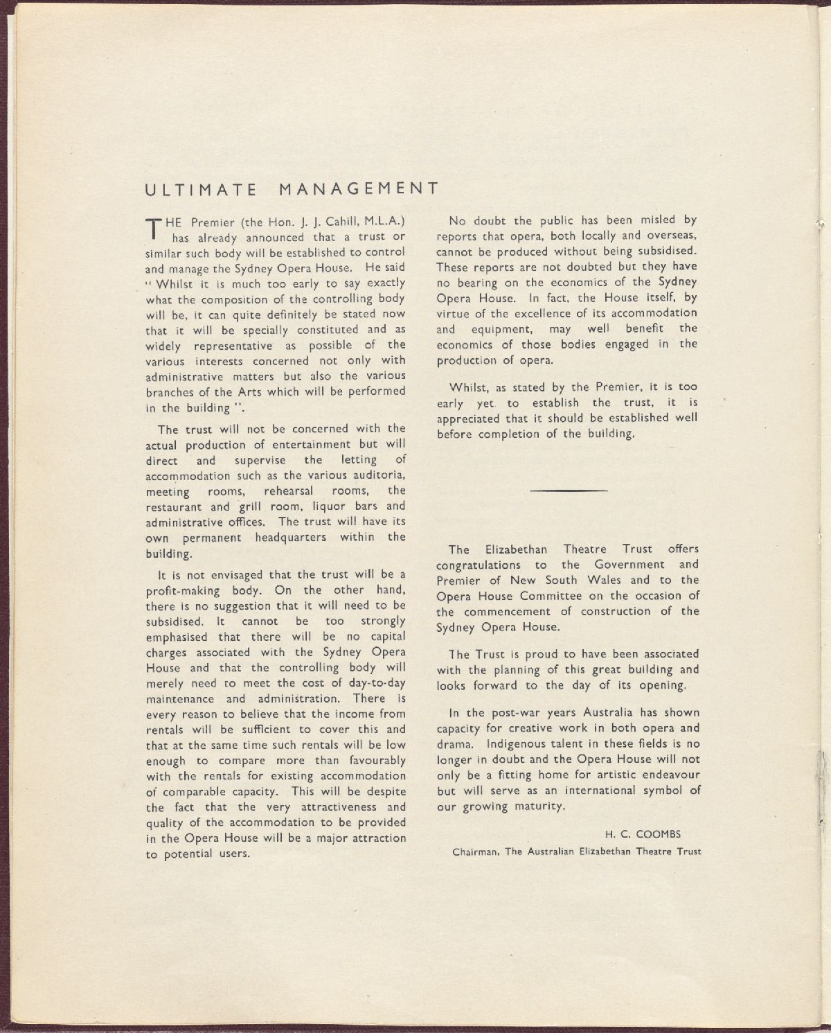 Ultimate management (1 of 2). NRS12706, 2-8645A