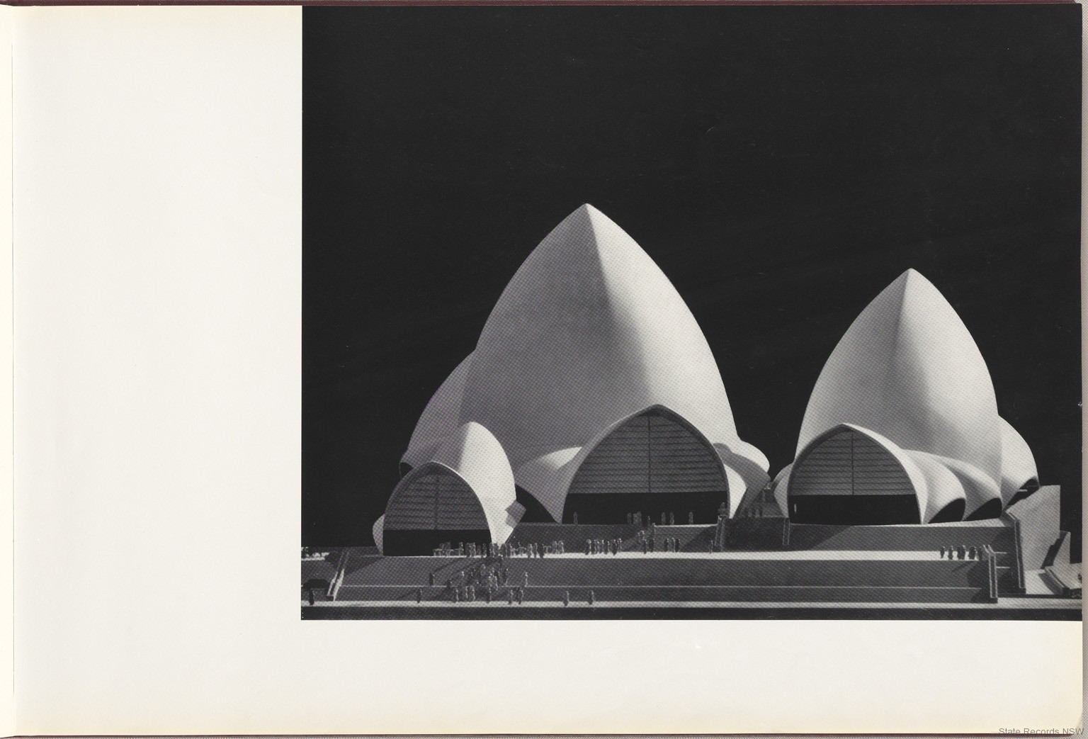 Models. Sydney Opera House - Red Book. NRS 12707