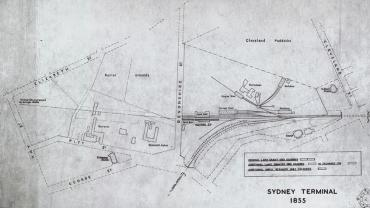 Sydney Terminal Map, 1855. Digital ID 17420_a014_a014001376
