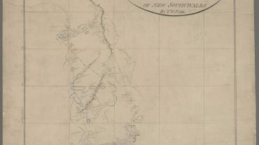 Surveyor General Crown Plans: Chart of Oxley's party's tract on discovery to the westward of New South Wales (Lachlan and Macquarie Rivers), 1817 I.537v NRS 13859 SZ209