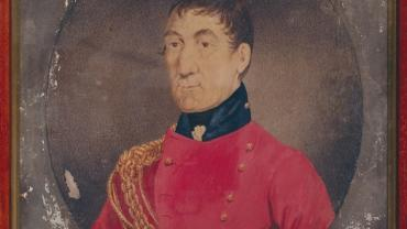 Lachlan Macquarie, 1822 by Richard Read. Mitchell Library P2-144, Digital Order No. a128361. Reproduced courtesy of the State Library of NSW