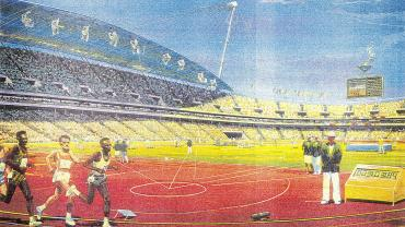 Athletics - Olympic Stadium - Sydney Olympic Park. NRS-15933-8-A3977