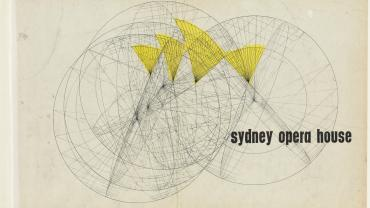 Front cover. Sydney Opera House - Yellow Book. NRS 12708