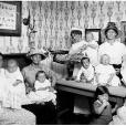 Nurse weighing baby at the Bourke St Baby Clinic, c.1914. Digital ID 4873_a004_a004000006r