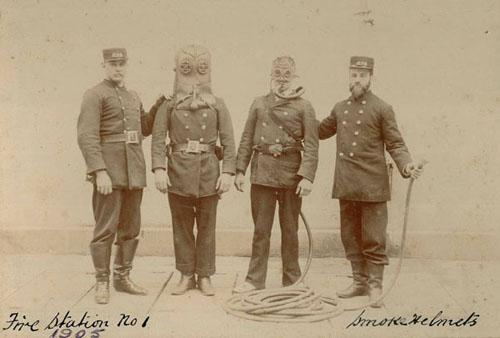NRS 15454, Photographs of fire brigade staff, Board members and Sydney fire scenes